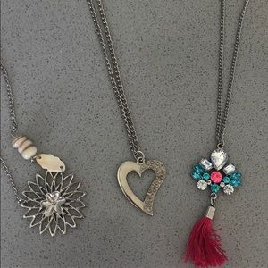 Set of 3 Necklaces
